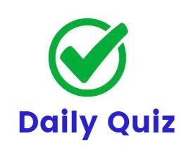 DAILY QUIZ (ENG) -COMPONENTS OF FOOD