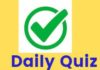 DAILY QUIZ (ENG) – PRESIDENT, PM, CENTRAL GOVT