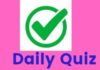 DAILY QUIZ (EM) – GENERAL SCIENCE IN DAILY LIFE